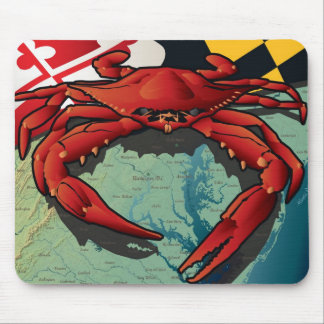 Citizen Crab of Maryland Mouse Mat