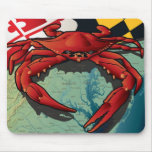 Citizen Crab of Maryland Mouse Pad