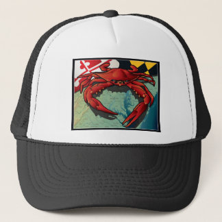 Citizen Crab of Maryland Trucker Hat
