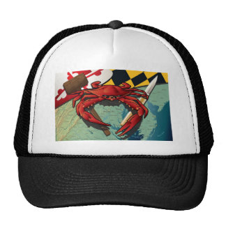 Citizen Crab with mallet and knife Cap