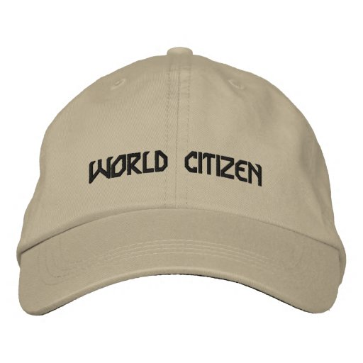 Citizen Embroidered Baseball Caps