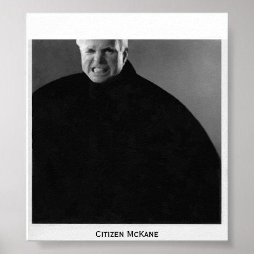 Citizen John McCain-Modern Citizen McKane Print