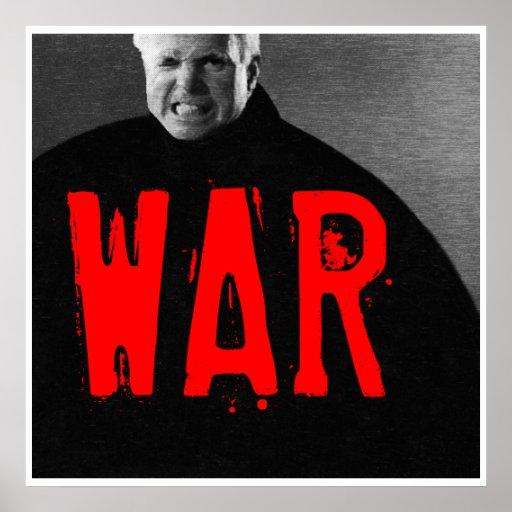 Citizen John McCain, WAR Print