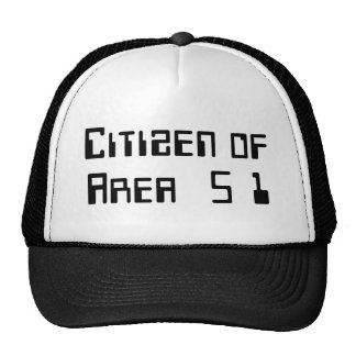 Citizen of Area 51 Mesh Hat