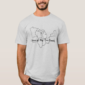 Citizen of Big Ten Country BW version II T-Shirt