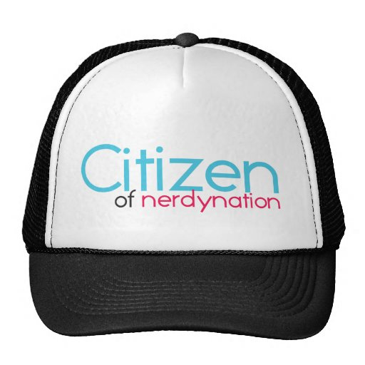 Citizen of Nerdynation Mesh Hats