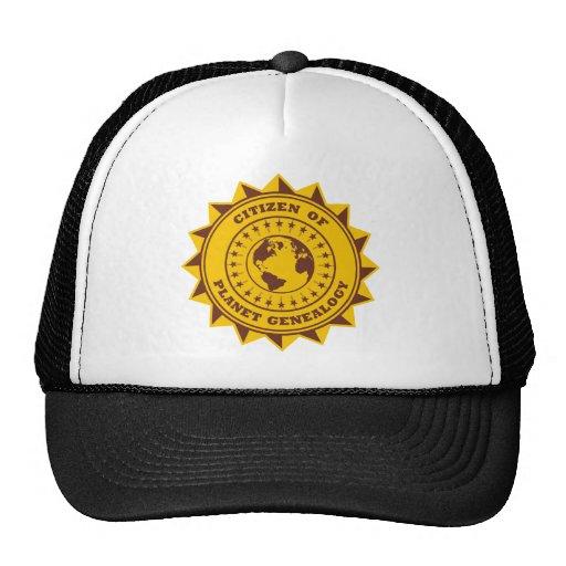 Citizen Of Planet Genealogy Mesh Hat