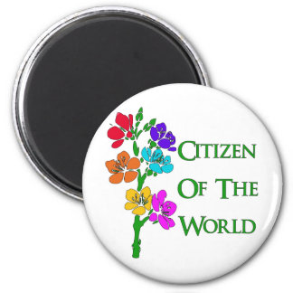 Citizen of the World Magnets
