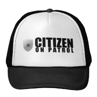 Citizen on Patrol Cap