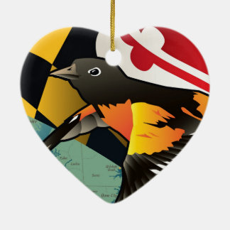Citizen Oriole, Maryland's State Bird Christmas Ornament
