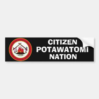 Citizen Potawatomi Nation Seal Bumper Sticker