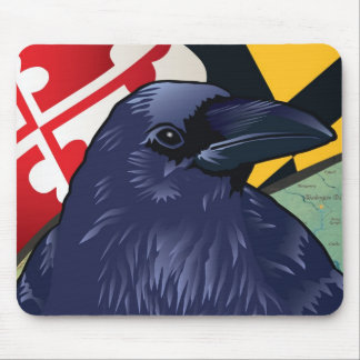 Citizen Raven, Maryland's Nevermore Mouse Mat