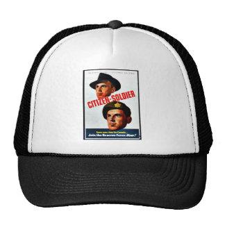 Citizen - Soldier Trucker Hats