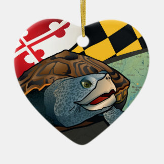 Citizen Terrapin, Maryland's Turtle Christmas Ornament