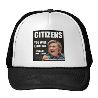 CITIZENS YOU WILL ELECT ME CAP
