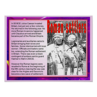 Citizenship, Immigration, Roman Settlers Poster