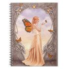 Citrine Birthstone Fairy Notebook