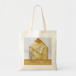Citrine - November Birthstone Bag