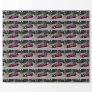 Citroen 2 CV Charleston Wrapping Paper