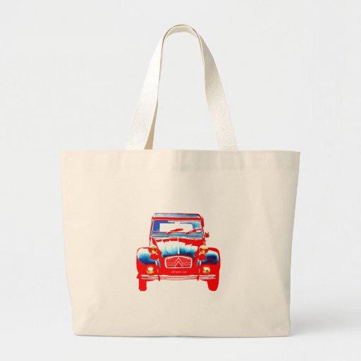 Citroen 2CV 2 Canvas Bags