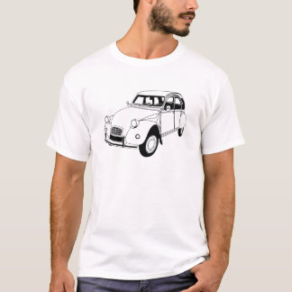 Citroen 2CV Dolly Inspired T-shirt