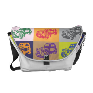 Citroen 2CV Rickshaw Messenger Bag