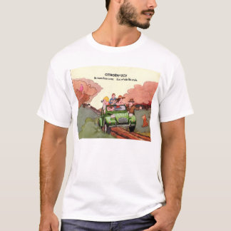 Citroen 2CV sales brochure T-Shirt