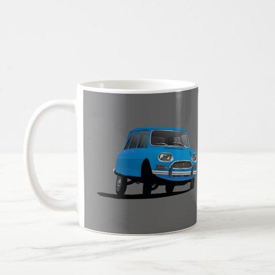 Citroën Ami 8, blue – 2 image coffee