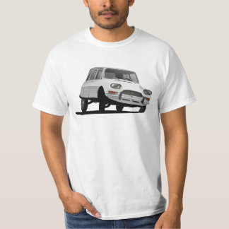Citroën Ami 8, illustration, white to right T-Shirt