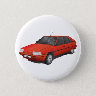 Citroën BX red 6 Cm Round Badge