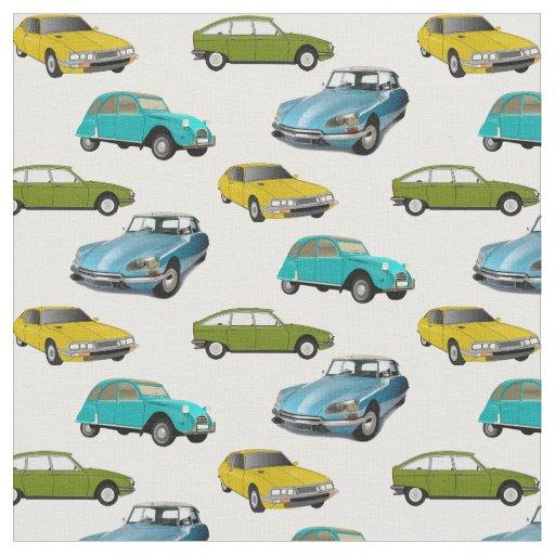 Citroen Cars Fabric