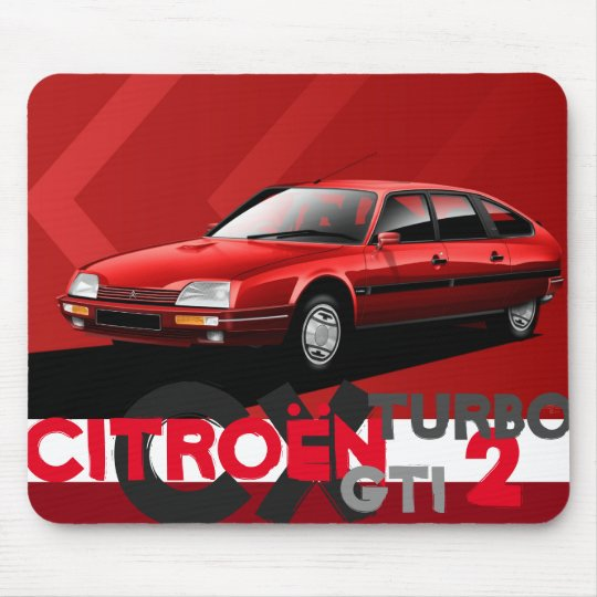 Citroen CX GTI Turbo 2 Mouse Mat