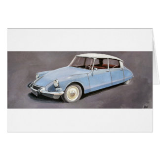 Citroen DS Card