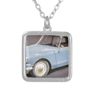 Citroen DS Silver Plated Necklace