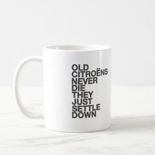 Citroen funny quote mug