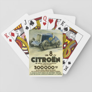 Citroen Sets a Distance Record Playing Cards