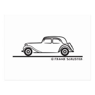 Citroën Traction Avant 15 Postcard