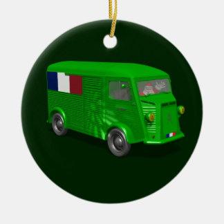 Citroen Type H Van Tube Christmas Ornament