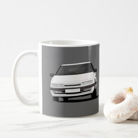 Citroën XM in white - two images per