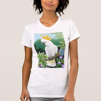 Citron Cockatoo Ladies Petite T-Shirt