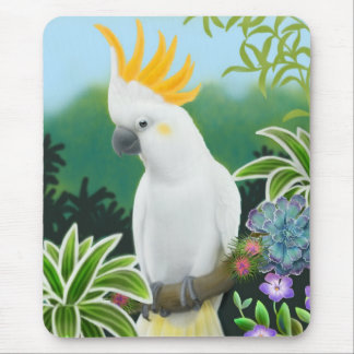 Citron Cockatoo Mousepad
