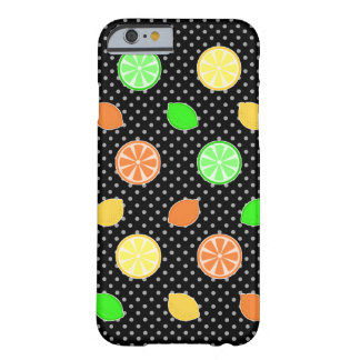 Citrus Bliss in Black Barely There iPhone 6 Case
