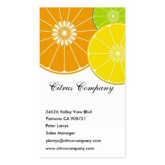 Citrus Company Business Card