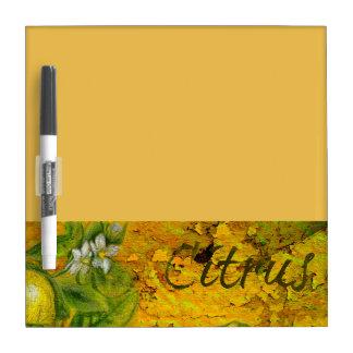 Citrus Dry Erase Board