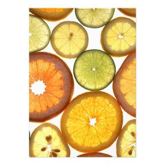 Citrus Fruits Custom Announcement