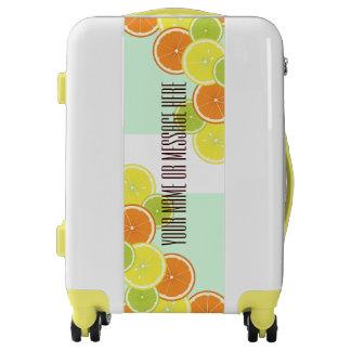 Citrus Fruits Original Design Personalized Luggage
