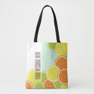 Citrus Fruits Original Design Personalized Tote Bag
