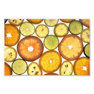 Citrus Fruits Photo Print