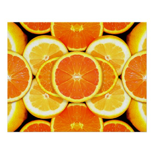 Citrus Fruits Picture Poster