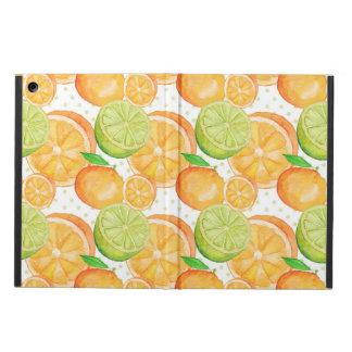 Citrus Fruits Watercolor iPad Air Cases